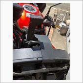 【ninja650R 2011】ドライブレコーダー取付金具の補強