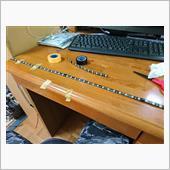 スライドドアステップ部のLED補修の画像
