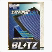 BLITZ  SUSPOWER AIRFILTER LM 取付の画像