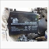 DIO(AF18)バッテリー交換の画像