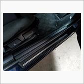 ドアステップ 5Dカーボンシート施工