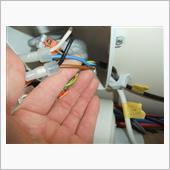 室内コンセント 外部電源/インバーター共用化 コンタクターリレー装着②の画像
