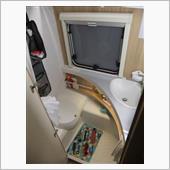 トイレ&シャワールーム コンセント追加の画像