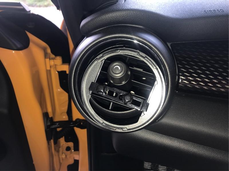CARMATE / カーメイト 丸型エアコン専用ドリンクホルダー DZ407 取り付け方法改善