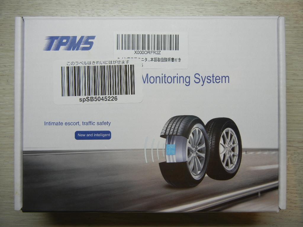 低価格TPMSの装着…