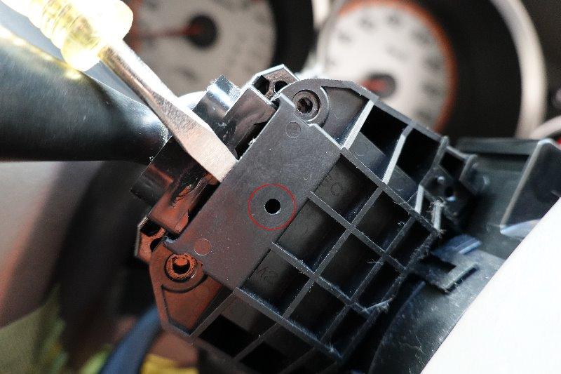 FIT(GD1) 間欠調整ワイパースイッチレバー交換