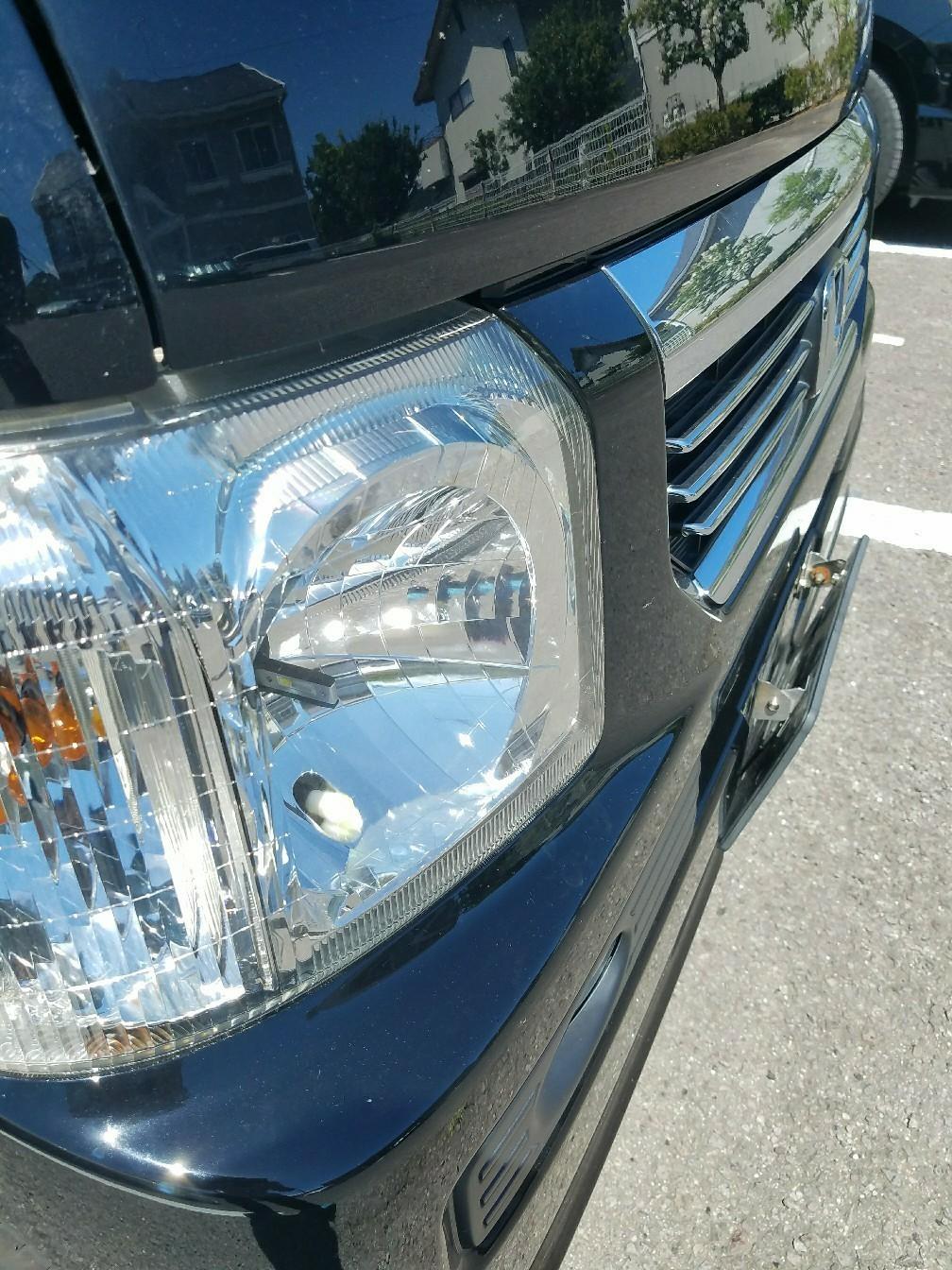 HM1 ヘッドライト&フォグ LED交換