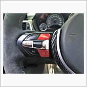 BMW Mボタン ステアリングスイッチ交換 レッド化