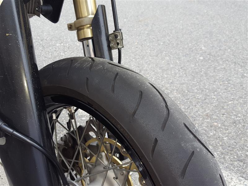タイヤ交換 Fのみ 46329km