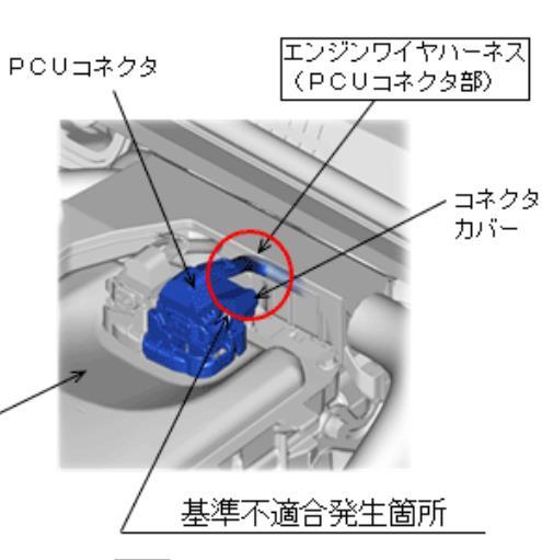 リコール エンジンワイヤハーネス保護材追加