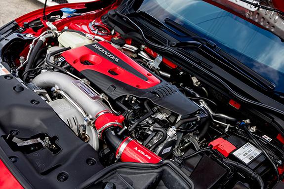 【FD2 タイプR】エンジンオイル交換