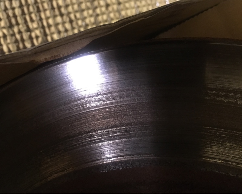 DIXCEL PDtypeブレーキローター・EStypeブレーキパッド取り付け