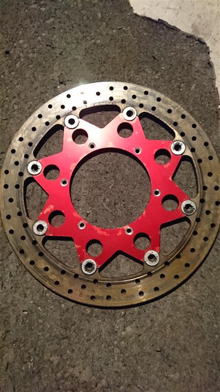 320mm   ローター鋳鉄