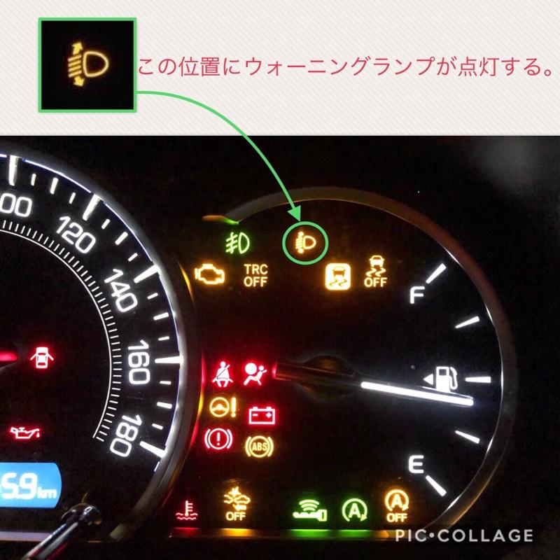 光軸調整/オートレベライザー初期化