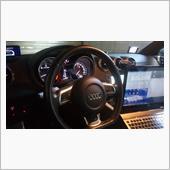 スピードメーター照明の常時点灯化の画像
