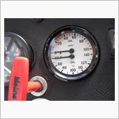 Mocal製油圧&油温計取り付け