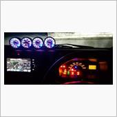 スピードメーター LED打ち変え