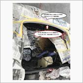 八王子の秘密奇知にてノーズ部分のファイバー修理を実施して頂きました。の画像