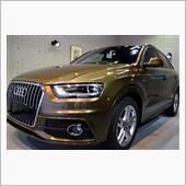 『まだまだ輝く、USED CAR。』アウディ・Q3 2.0 TQ S-lineのガラスコーティング