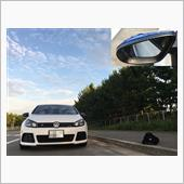 【Golf-R】Carbon Texture Wing Mirror Frameの画像