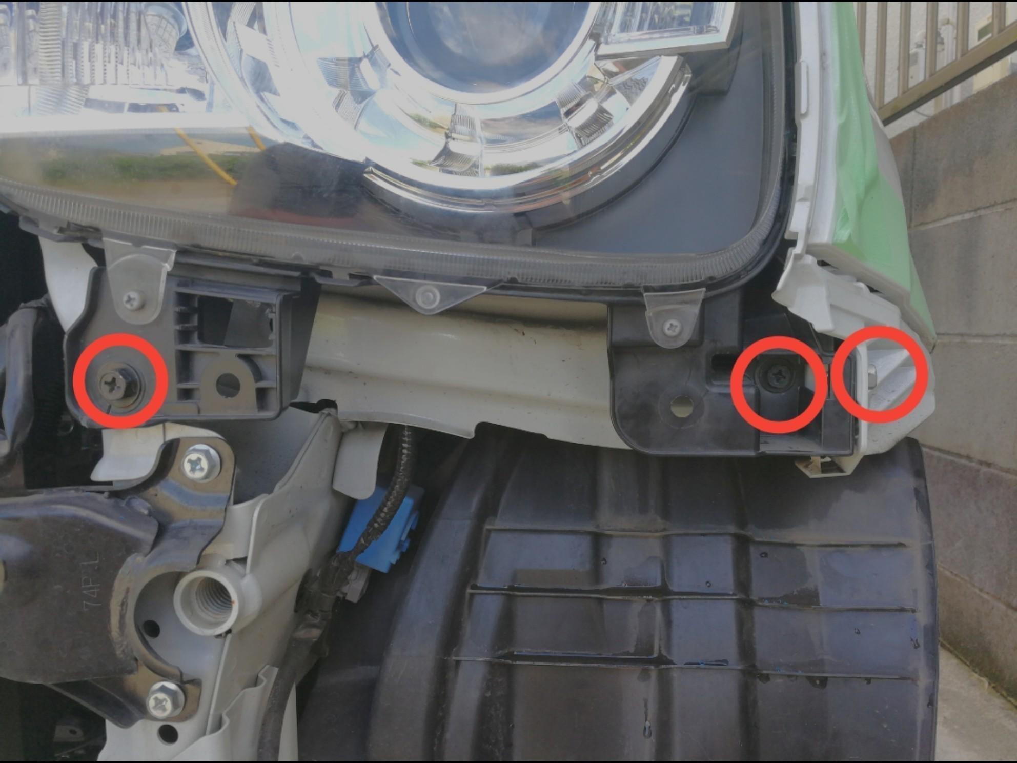 ウインカー用 LEDの取付 その2