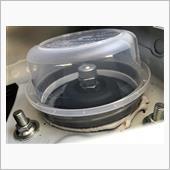 アッパーマウント雨水対策に自作インシュレーターキャップを