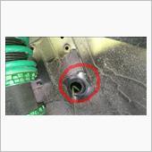 コストダウン箇所改善  グロメット取付の画像