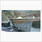 ジャッキアップポイント修理の画像