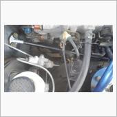 チャコールキャニスタ&プレッシャーレギュレーター&燃料ホースエンジン側交換の画像