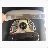 シートベルトボルト部分のカバー脱着の画像