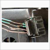 スロットルポジションセンサー部コネクタの配線修理