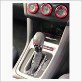 シフトパネルにカーボンシート貼付(LFM2018槌屋ヤックさんご提供)の画像