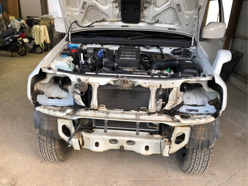 JB23 錆び穴修理