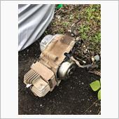 バーディーのエンジンを50ccから80ccにエンジン載せ替えの画像