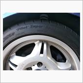 タイヤ交換・リアホイール8.5J→7.5J化の画像