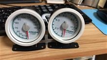 Aピラーに油圧・油温計を付けてみようと頑張る その1