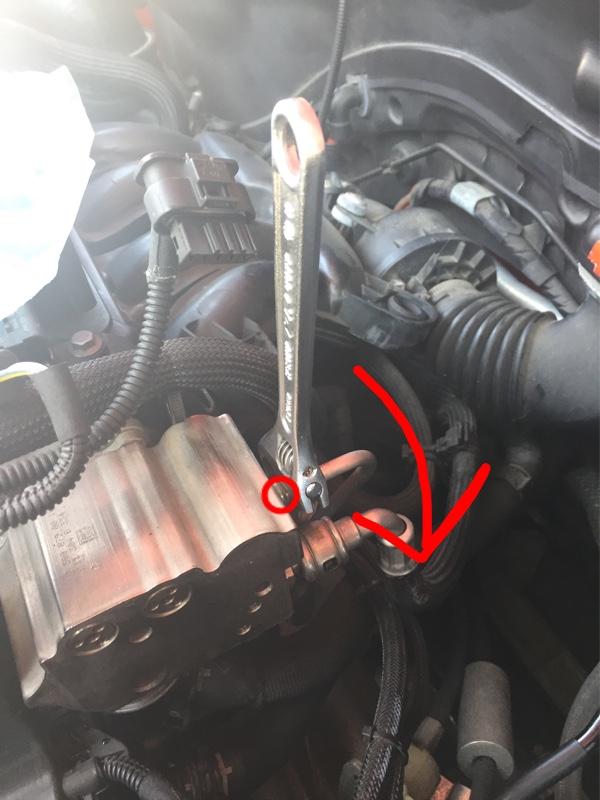 ハイプレッシャーポンプ交換② BMW MINI