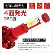 4面発光 LED COBチップに交換