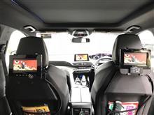 5008 後部座席用にDVDプレーヤー&モニターを取付けましたのカスタム手順1