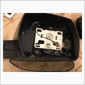 ドアミラーの修理の画像