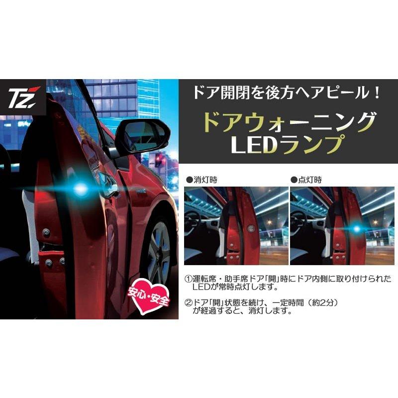 トヨタ大阪共販ドアウォーニングLEDランプ&カーテシ取付