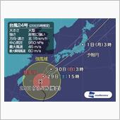 台風対策…の画像