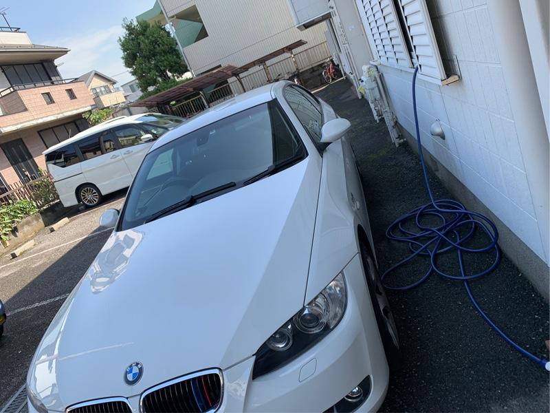 がっつり洗車!
