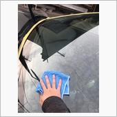 フロントガラス清掃+再コーティングの画像