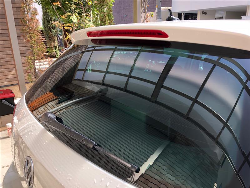 洗車(窓磨き)