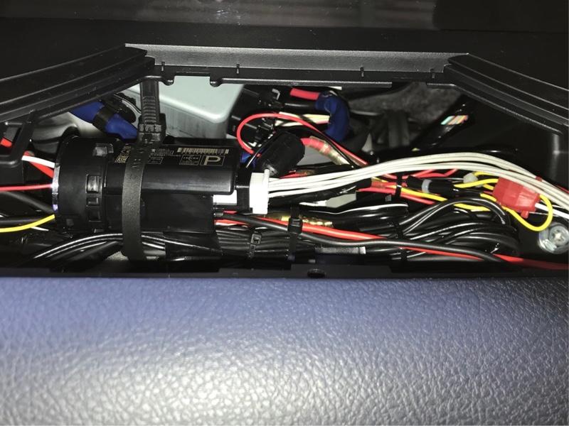 ドライブレコーダー 駐車監視SW取付け(備忘録)