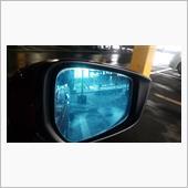 ドアミラーブルーフィルム剥がしの画像