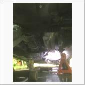 溶接補修エキマニの取付の画像