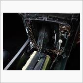 メルセデスベンツ W204 コマンドコントローラーシャフト修理     取り外し 分解 補修  その1の画像