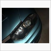 GTAヘッドライト クリア塗装の画像